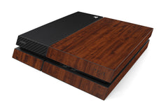 Playstation 4 Two/Tone - Dark Wood/Black Carbon Fiber