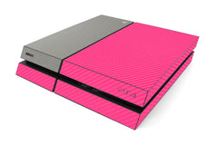 Playstation 4 Two/Tone - Pink/Brushed Titanium