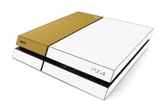 Playstation 4 Two/Tone - White/Brushed Gold