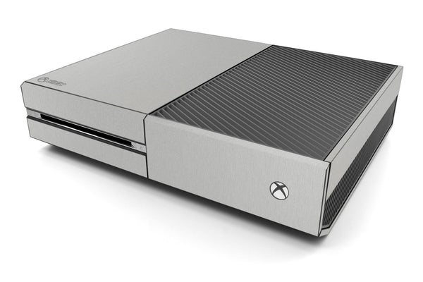 Xbox One Skin - Brushed Metal - iCarbons - 2