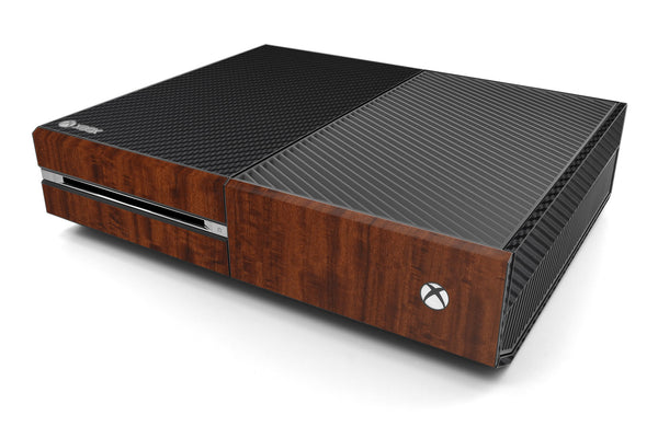 Xbox One Two/Tone - Black/Dark Wood - iCarbons