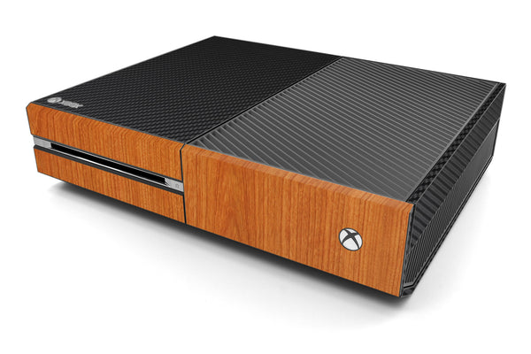 Xbox One Two/Tone - Black/Light Wood - iCarbons