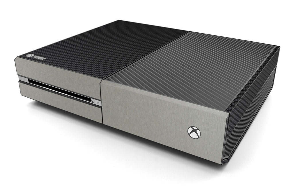 Xbox One Two/Tone - Black/Brushed Titanium - iCarbons