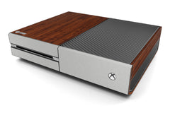 Xbox One Two/Tone - Dark Wood/Brushed Aluminum
