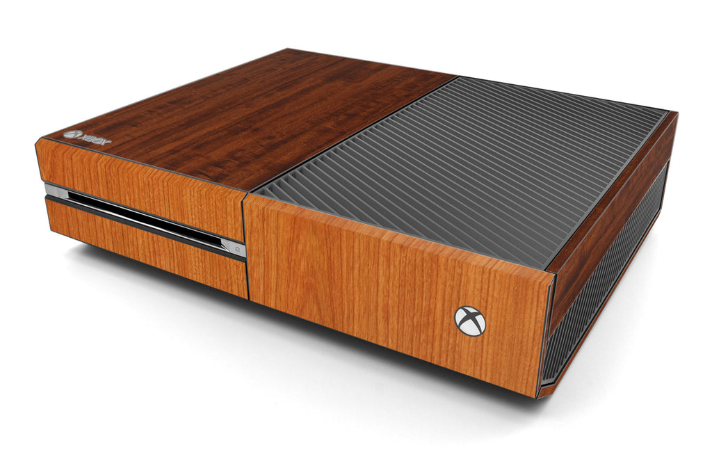 Xbox One Two/Tone - Dark/Light Wood - iCarbons