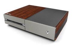Xbox One Two/Tone - Dark Wood/Brushed Titanium