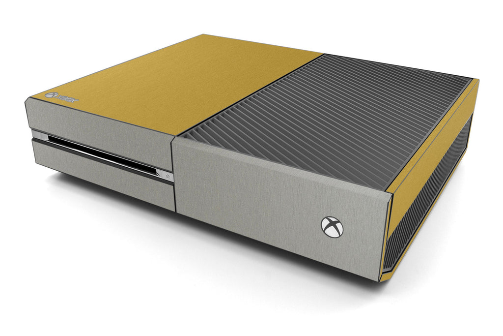 Xbox One Two/Tone - Brushed Gold/Titanium - iCarbons