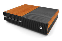 Xbox One Two/Tone - Light Wood/Black Carbon Fiber