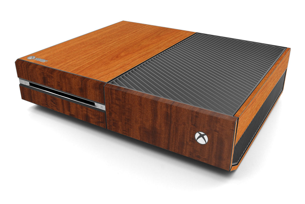 Xbox One Two/Tone - Light/Dark Wood - iCarbons