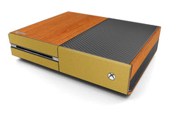 Xbox One Two/Tone - Light Wood/Brushed Gold