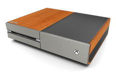 Xbox One Two/Tone - Light Wood/Brushed Titanium