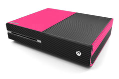 Xbox One Two/Tone - Pink/Black Carbon Fiber