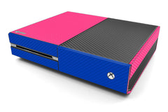 Xbox One Two/Tone - Pink/Blue Carbon Fiber