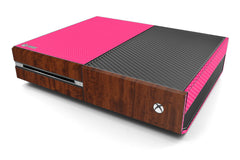 Xbox One Two/Tone - Pink/Dark Wood