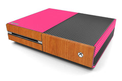 Xbox One Two/Tone - Pink/Light Wood
