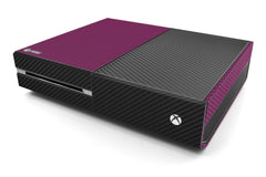 Xbox One Two/Tone - Purple/Black Carbon Fiber