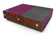 Xbox One Two/Tone - Purple/Dark Wood