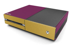 Xbox One Two/Tone - Purple/Brushed Gold