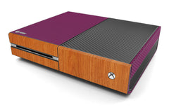 Xbox One Two/Tone - Purple/Light Wood