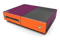 Xbox One Two/Tone - Purple/Orange Carbon Fiber