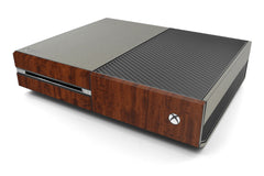 Xbox One Two/Tone - Brushed Titanium/Dark Wood