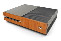 Xbox One Two/Tone - Brushed Titanium/Light Wood