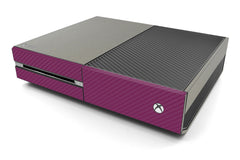 Xbox One Two/Tone - Brushed Titanium/Purple Carbon Fiber