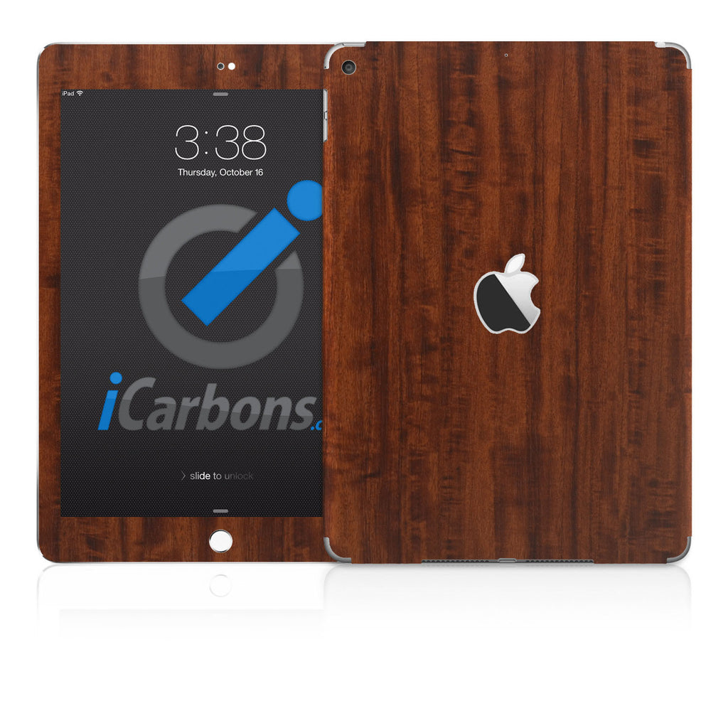 iPad (non-Pro) 2017 Skins -  Wood Grain