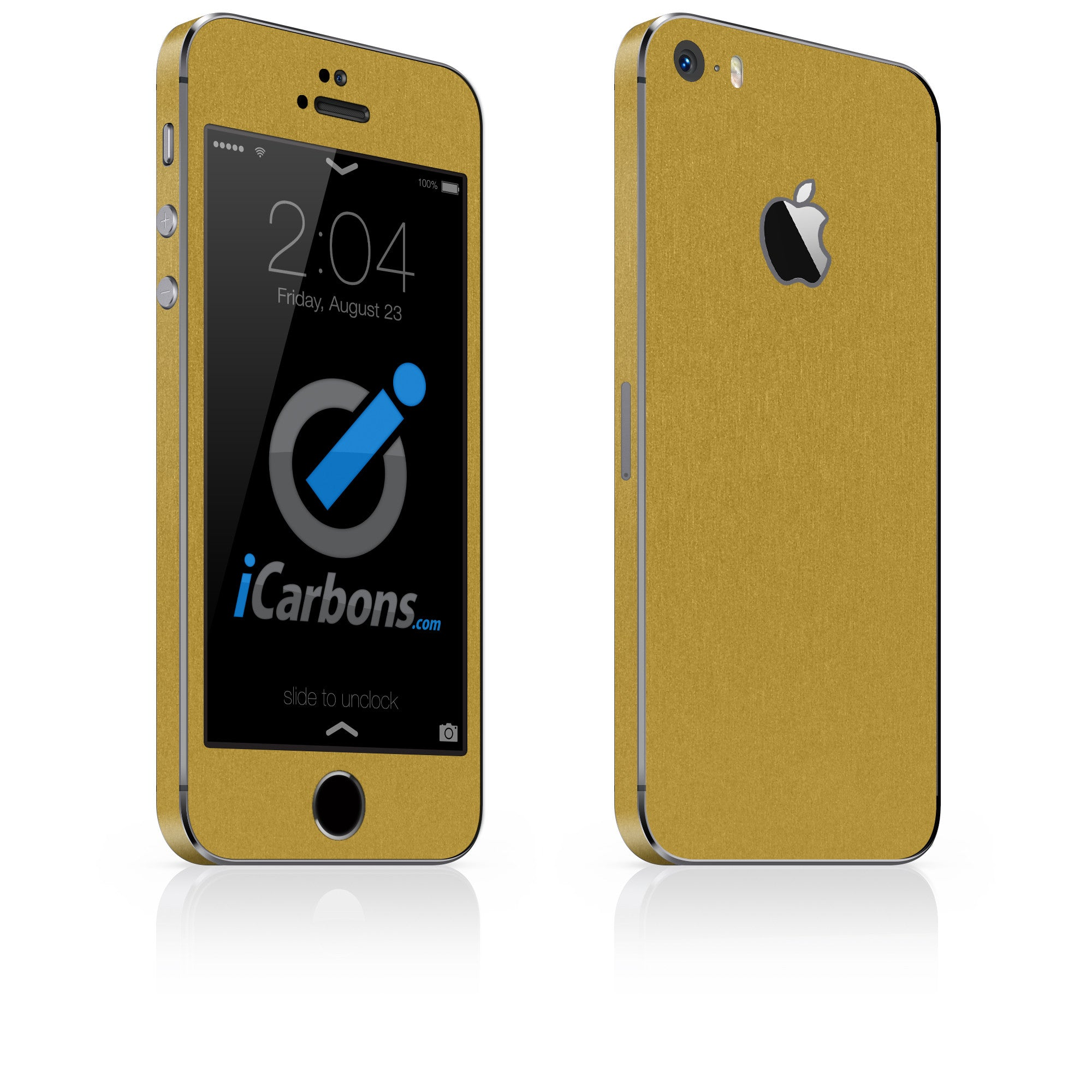 on sale 89d0d 8a96e iPhone 5S / SE - Brushed Gold