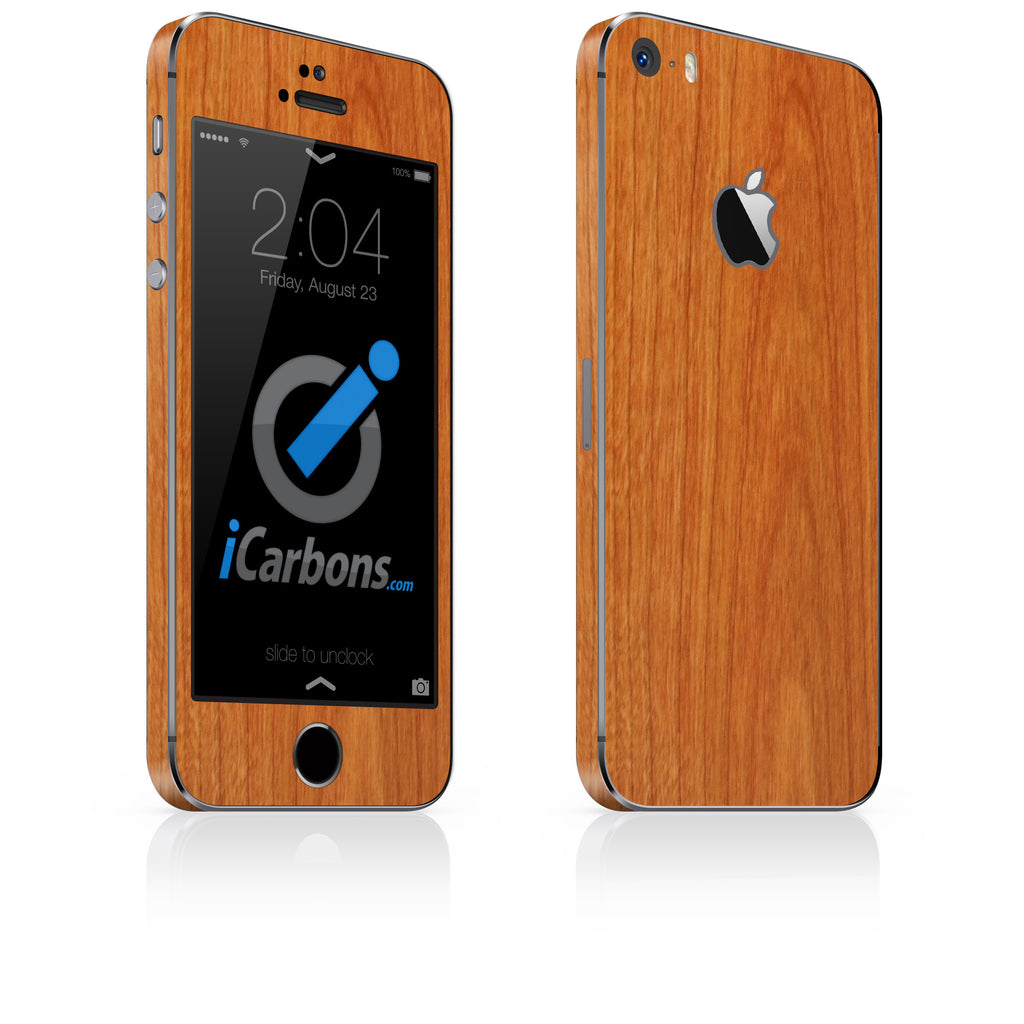 iPhone 5S / SE - Light Wood - iCarbons - 1