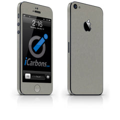 iPhone 5 Skin - Brushed Titanium