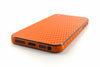 iPhone 5 Skin - Orange Carbon Fiber - iCarbons - 3