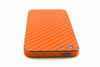 iPhone 5 Skin - Orange Carbon Fiber - iCarbons - 7