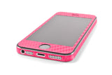 iPhone 5S / SE - Pink Carbon Fiber - iCarbons - 3