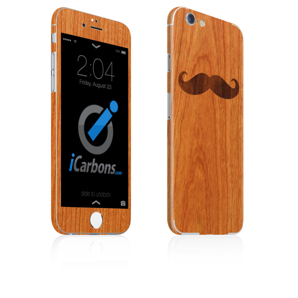 Mustache iPhone 6-6 Plus Skin - iCarbons - 1