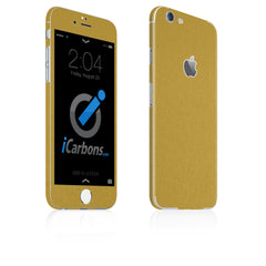 iPhone 6 Plus / 6S Plus Skin - Brushed Gold