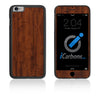 iPhone 6 / 6S HD Skin Case - Wood Grain - iCarbons - 2
