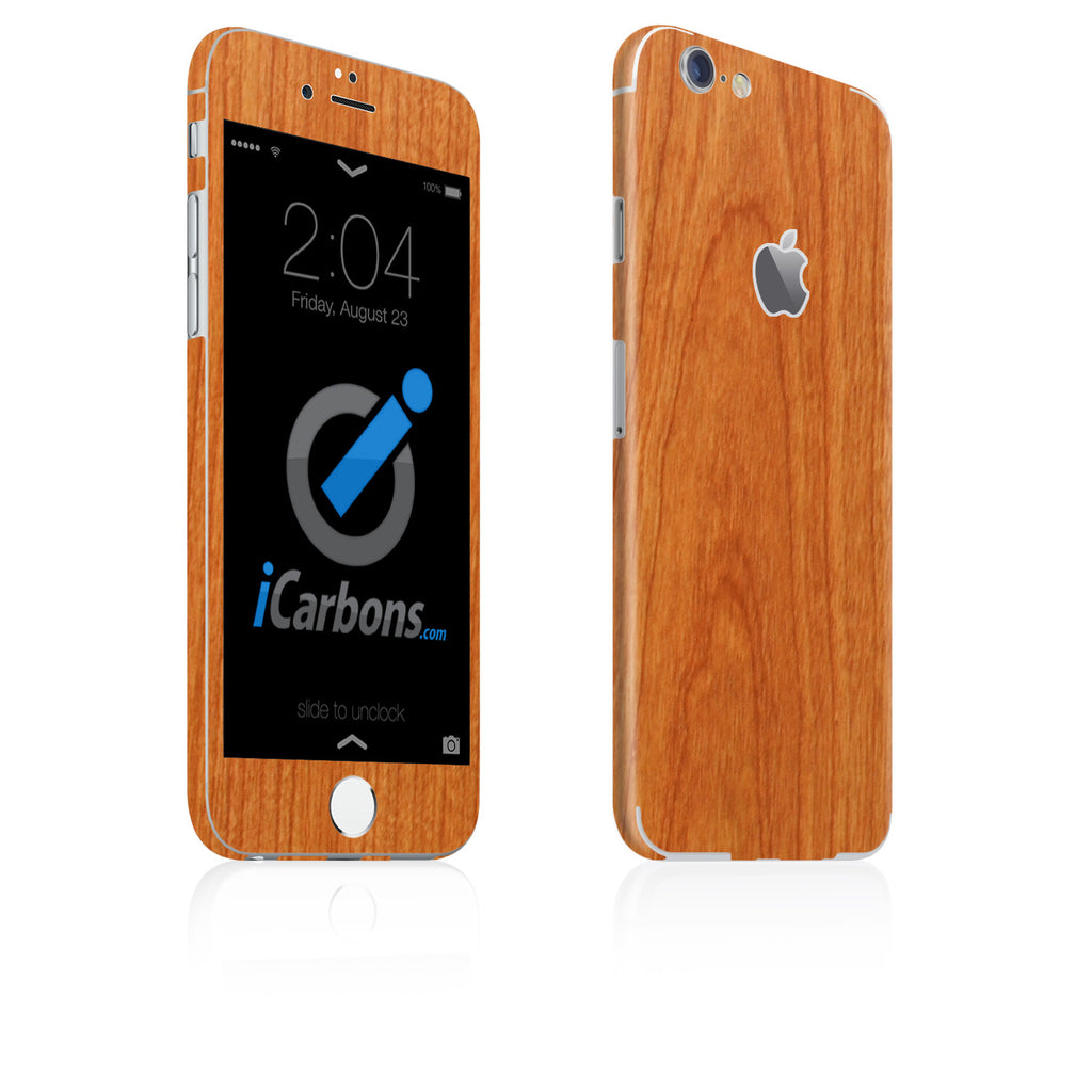 iPhone 6 Plus / 6S Plus Skin - Light Wood - iCarbons
