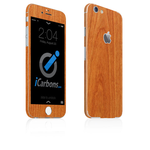 iPhone 6 / 6S Skin - Light Wood - iCarbons