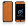 iPhone 6 Plus / 6S Plus HD Skin Case - Wood Grain - iCarbons - 4