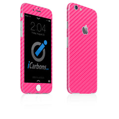 iPhone 6 Plus / 6S Plus Skin - Pink Carbon Fiber