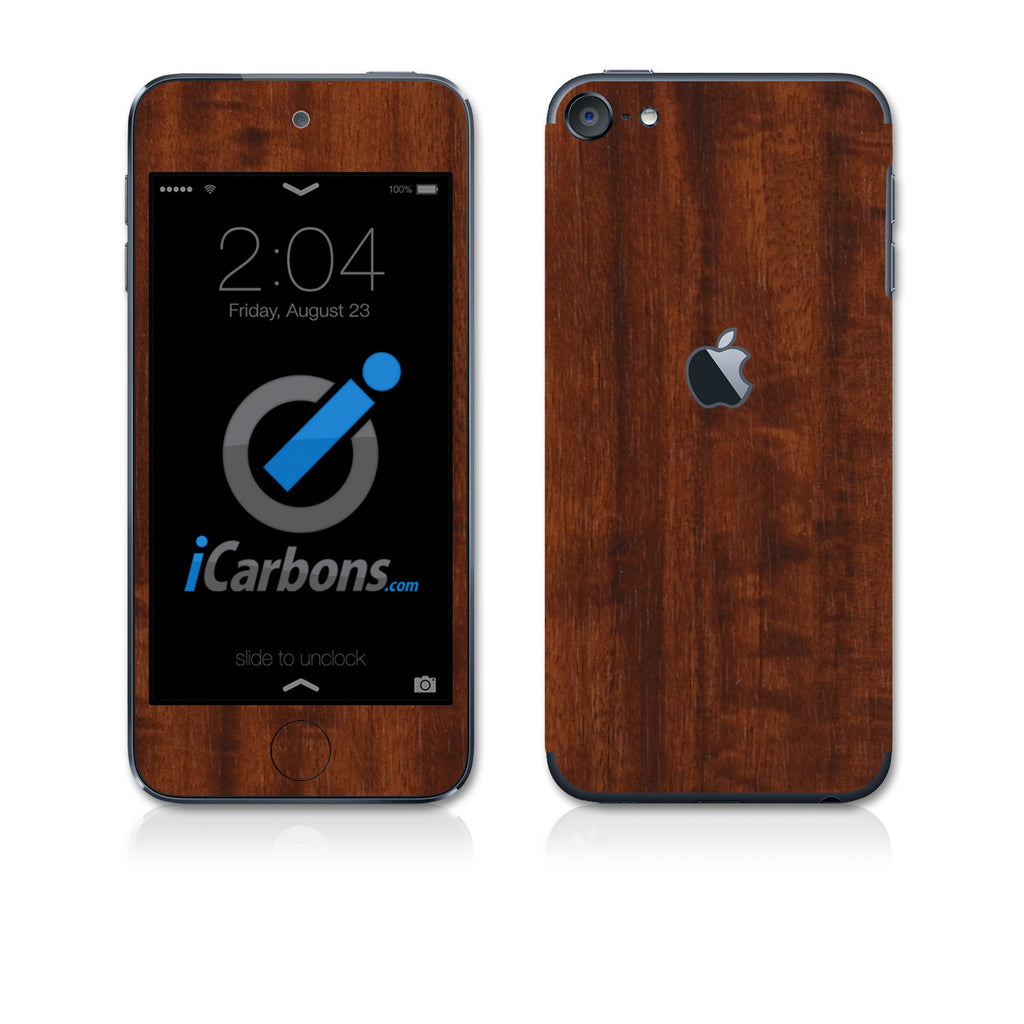 iPod Touch 6th Gen Skins - Wood Grain - iCarbons - 1