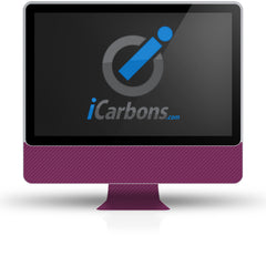 "iMac 24"" - Purple Carbon Fiber"
