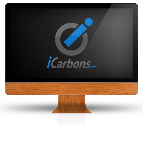 "iMac 27"" - Light Wood - iCarbons"