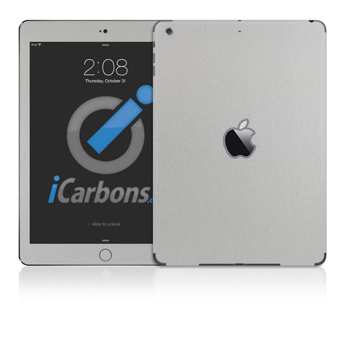 iPad Air Skins - Brushed Metal - iCarbons - 1