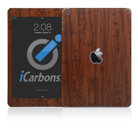 iPad Air Skins -  Wood Grain - iCarbons - 1