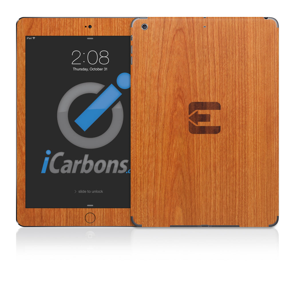 Official Evad3rs iPad Skin - Light Wood - iCarbons - 1