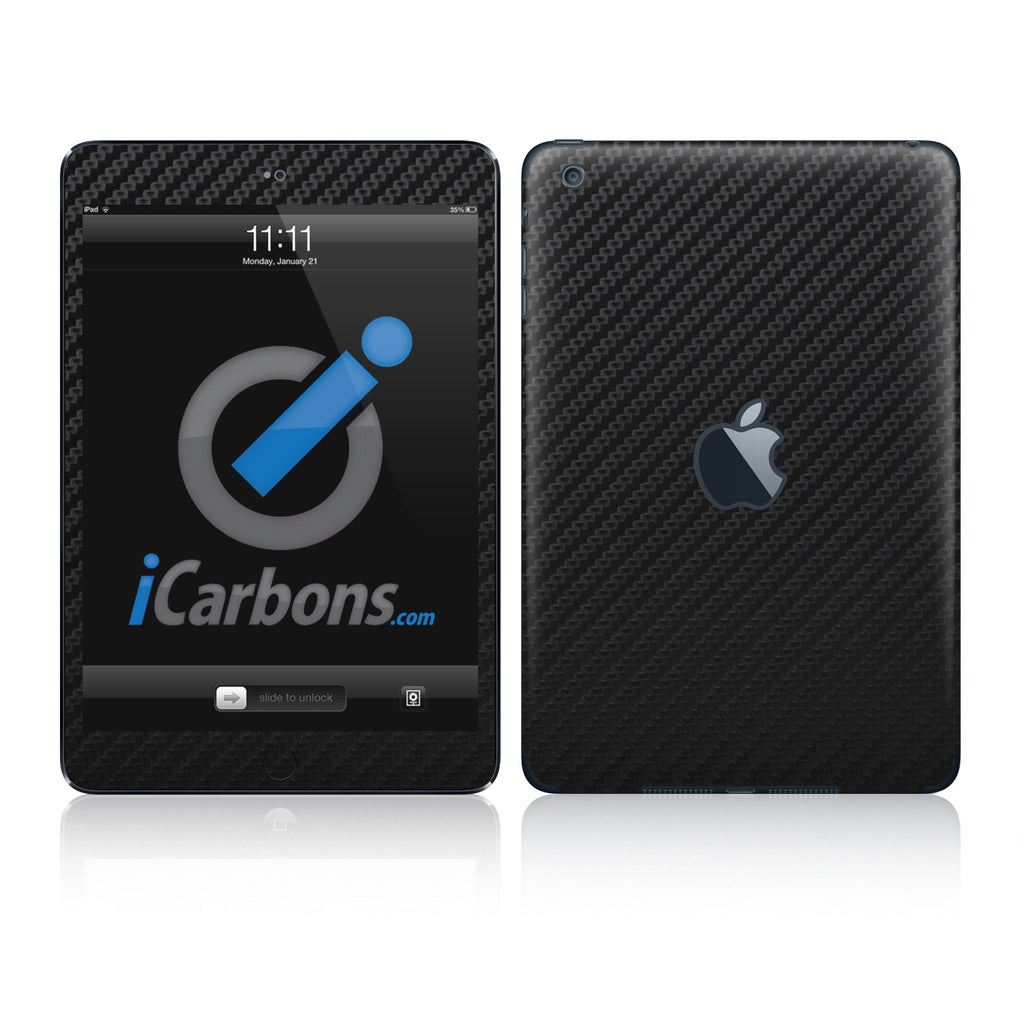 iPad Mini Skins - Carbon Fiber - iCarbons - 1