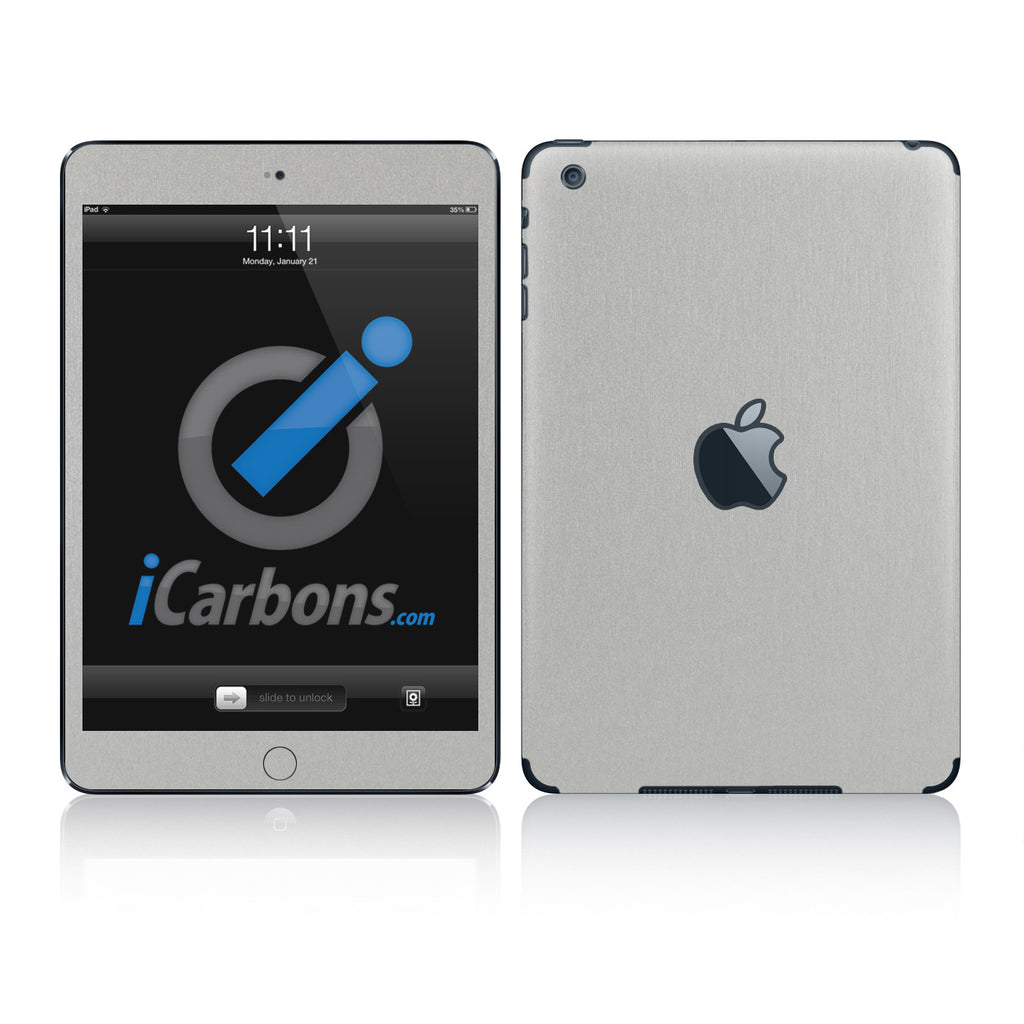 iPad Mini Skins - Brushed Metal - iCarbons - 1