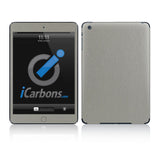 iPad Mini Skins - Brushed Metal - iCarbons - 9